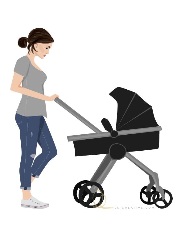 Illustration: Stroller Style