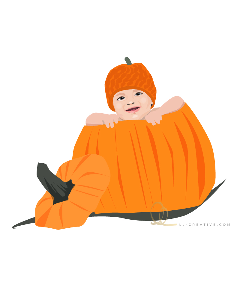 Illustration: Pumpkin Baby