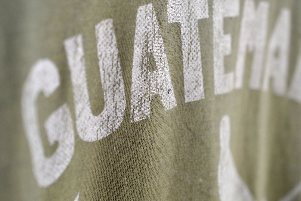 Guatemala Tshirt close-up