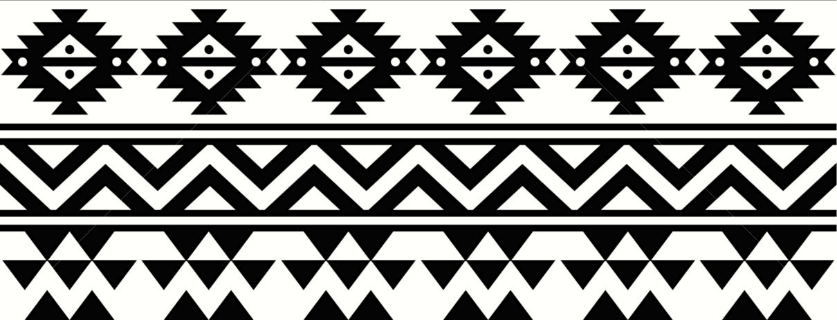 Image Black And White Tribal Print Pattern Download ...