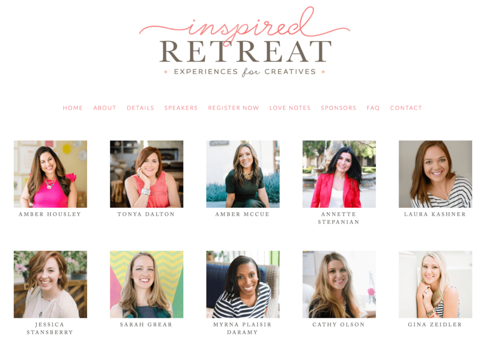 Inspired Retreat Fall 2017 Speaker