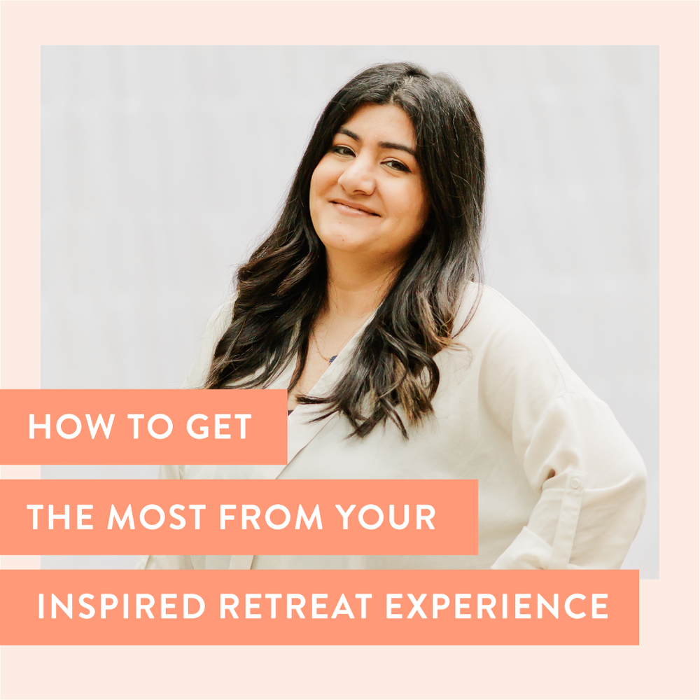 Want to get the most out of your Inspired Retreat experience? As a four-time attendee, Yasmine Kashefi is sharing her best tips on how you can best prepare for this one-of-a-kind business retreat for female entrepreneurs! | Amber Housley #inspiredretreat