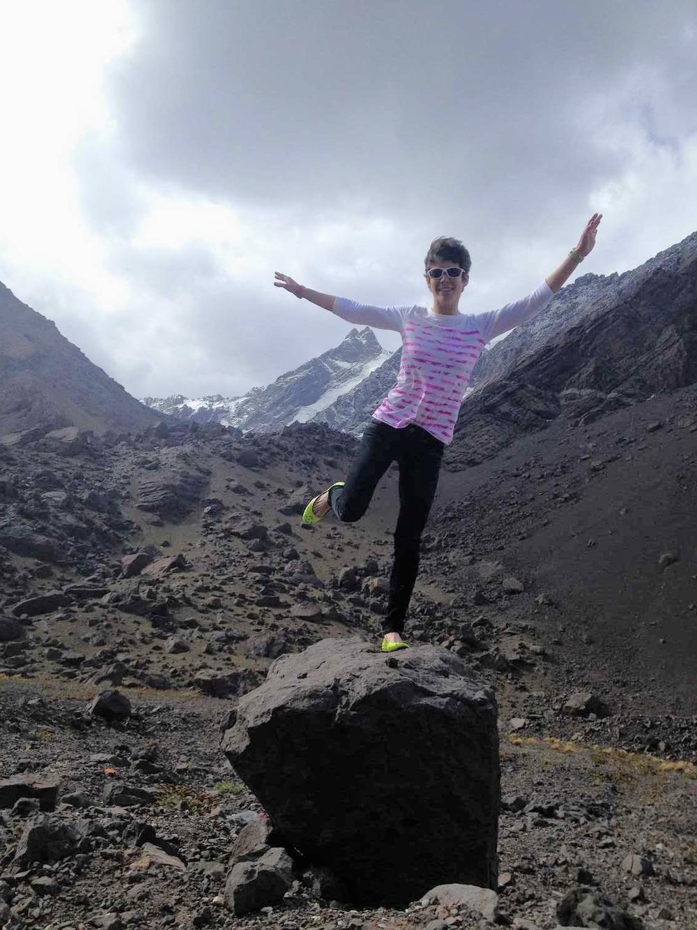 Los Andes- Argentina-Chile Border!