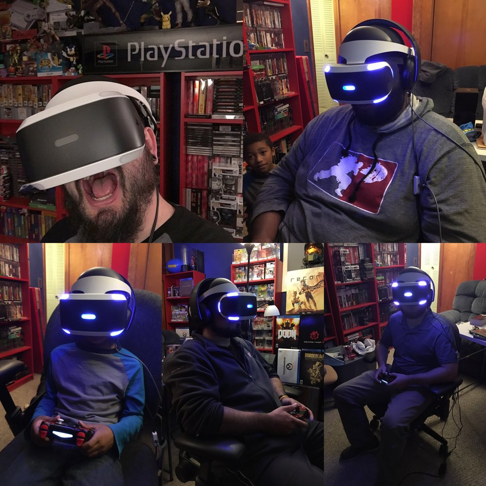 We have all be assimilated we are one we are PSVR!!!