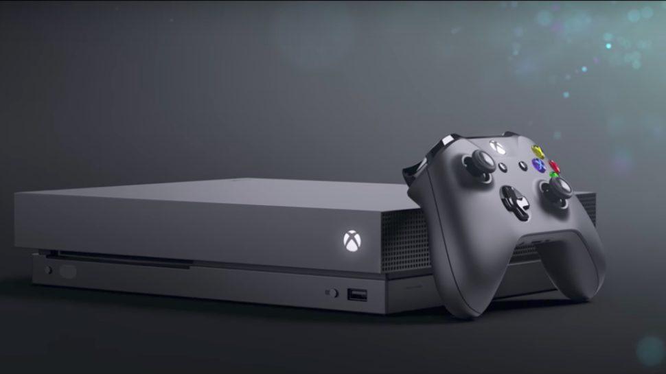 Xbox One X -