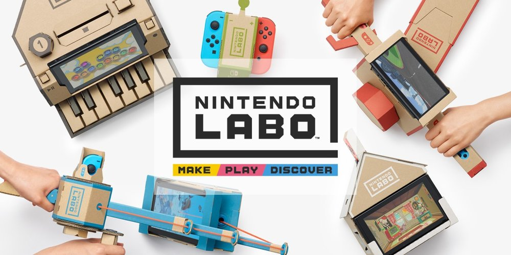 Nintendo Labo - The world of video games has turned into strings and cardboard! We tell you all about the hottest news of Nintendo Labo. Diving into the good and bad aspects and what they mean to the gaming industry.
