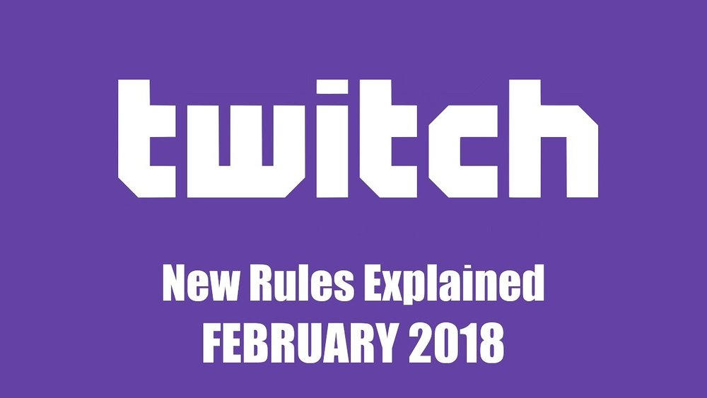 Twitch Institutes New Guidelines for Harassment and Dress Code - http://www.ign.com/articles/2018/03/05/twitch-institutes-new-guidelines-for-harassment-and-dress-code