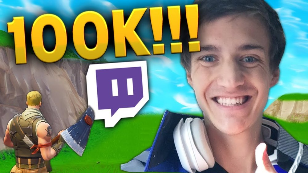 Ninja 100K - https://dotesports.com/culture/news/ninja-fortnite-100k-subscribers-twitch-news-21529