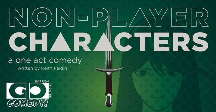 Non Player Characters  - On this episode of GameZilla Alpha we travel out to Go Comedy in Ferndale Michigan to watch a on act comedy all about Non Player Characters of NPCs. After the show we sit down with the creators of the show and being you a behind the scenes interview of a fantastic video game comedy act.