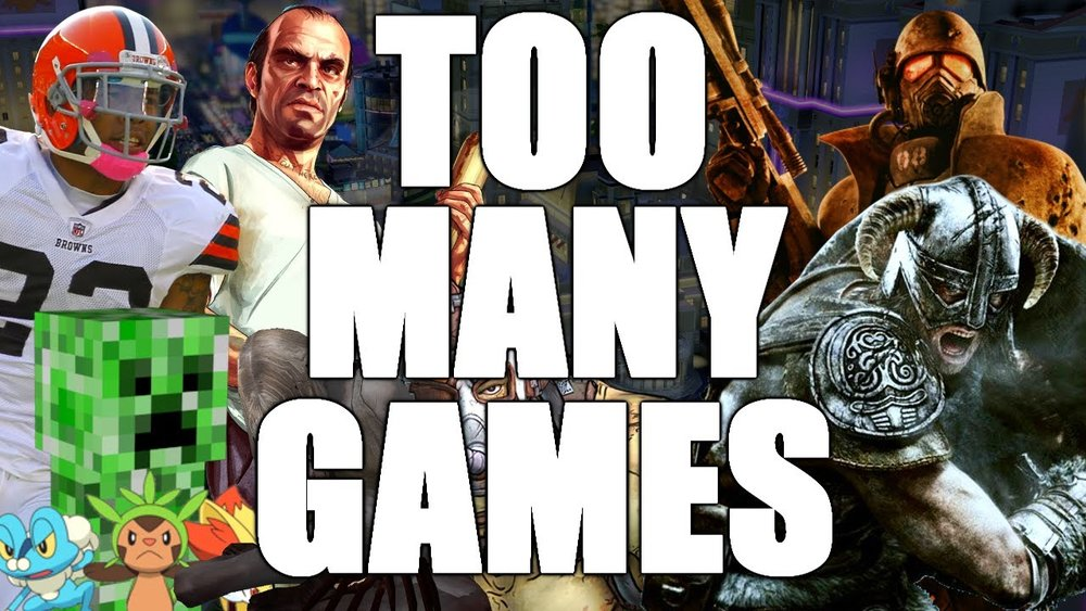 So Many Games - This week we discuss our feelings on the amount of Video Games that are flooding the market and what effect that has on the gamer.