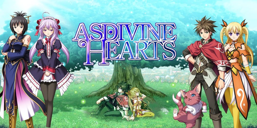 Asdivine Hearts   Travel alongside four companions and a cat in a fantasy RPG featuring stunning animated turn-based battles!   Grimlock's Must or Bust:    Bust -  A middle of the road 2D turn-based JRPG. There are so many options when it comes to this type of RPG. With nothing separating this game from so many others, Asdivine Hearts gets lost in the sea of JPRGs.