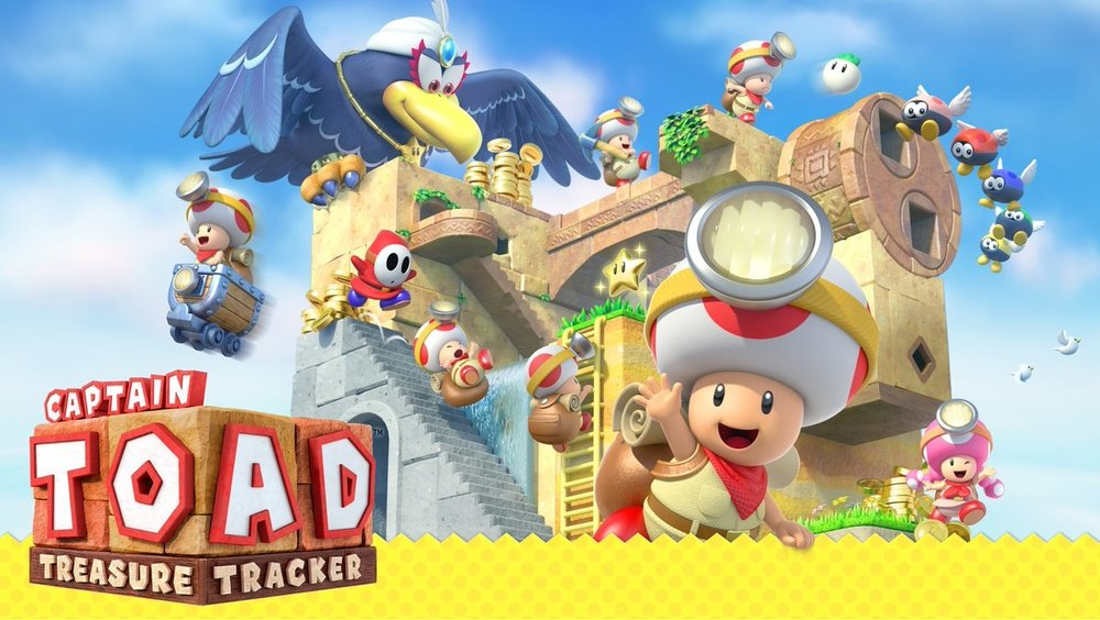 Captain Toad Treasure Tracker     Captain Toad: Treasure Tracker   is an action puzzle video game, it is a spin-off of the  Super Mario  series which builds upon an uncommon type of level in  Super Mario 3D World .   Grimlock's Must or Bust:    Must -  This is a must own for any Switch owner. One of the most clever puzzle games I have ever played. Fun and challenging, mixed with that Mario charm; do not sleep on this game.