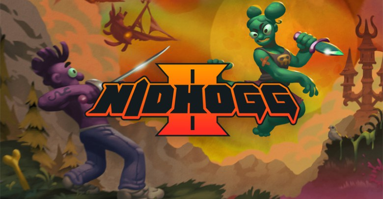Nidhogg 2   The rules are simple. Reach the other side and kill anyone that stands in your way. Deftly parry and rend their throats, riddle their bowels with arrows, or squish their brains between your toes. The wurm cares not for chivalry.   Grimlock's Must or Bust:    Must -  An insane game of tug of war mixed with sword fighting and some of the craziest graphics you have ever seen, Nidhogg 2 takes everything from the first game and adds some more ridiculousness to the series.