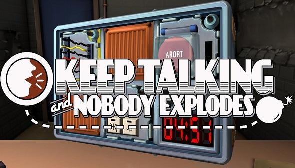 "Keep Talking and Nobody Explodes    Releasing on 8/16 for NSW    Also Available on: PS4 (PSVR), Xbox, PC   In Keep Talking and Nobody Explodes, one player is trapped in a room with a ticking time bomb they must defuse. The other players are the ""Experts"" who must give the instructions to defuse the bomb by deciphering the information found in the Bomb Defusal Manual. But there's a catch: the Experts can't see the bomb, so everyone will need to talk it out – fast!   Grimlock's Must or Bust:    Must -  If you are looking for a fun and unique party game, then Keep Talking and Nobody Explodes is definitely a game to try. I have enjoyed this game, both on PSVR and Oculus, but we now have the game playable without VR required. The tension builds as one player sees the bomb and describes it, helping another player figure out what bomb defuse instructions they need, all while not being able to see what the other person has in front of them. It can be a stressful mess, but it also is a great communication exercise, all wrapped up into a fun video game."