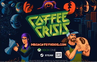 Coffee Crisis    Releasing on 8/15 for Xbox    Also Available on: PC   Save the Metal, Save the World, Save the Coffee!  Coffee Crisis is a neo-rogue brawler that puts you in the shoes of the only baristas on Earth with enough heavy metal in their veins to fend off an alien assault. Play solo or join up with a friend to fight across eight unique locations ranging from your Coffee House HQ to the far reaches of outer space. Go up against an army of wild alien enemies, and the humans they have brainwashed with a variety of weapons, special moves, suplexes, and coffee!  The Smurglian race has come to Earth and they're not leaving until they steal our three most prized commodities: heavy metal, free Wifi, and our coffee. Crunch through fistfuls of alien meat as you stop their invasion, and enjoy random modifiers to the enemies and action on each playthrough. It's a totally unique cup of beat 'em up action every time you play!   Grimlock's Must or Bust:    Must -  I got to play Coffee Crisis at PAX East this year and had a blast. Mega Cat Studios is a Michigan-based developer that has been on our GameZilla Alpha podcast to talk about the new retro games they were developing. The game plays like Streets of Rage or Battletoads; it's a well-designed brawler that has plenty of humor mixed in. I was able to play the PC version, which had an extra setting for Twitch interactive; this allowed viewers of the stream to vote in the Twitch chat to either help us or spawn enemies if they want to be trolls. I found this extra mode to be a lot of fun and really added a sense of viewers being truly part of the streaming experience.