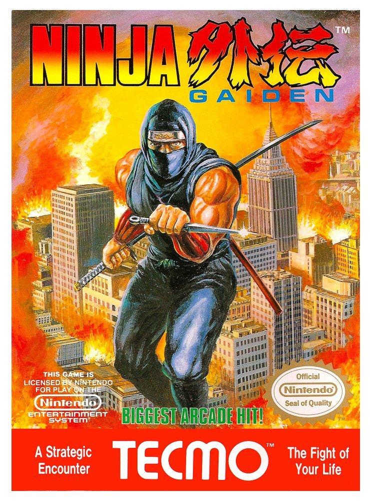 ninja gaiden nes box art