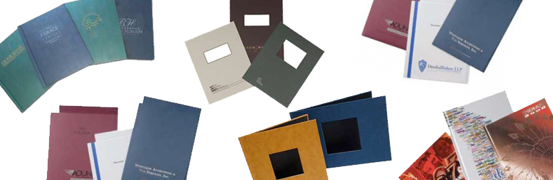 Select from an assortment of soft and hard covers. Various finishes and sizes available to meet a schools needs