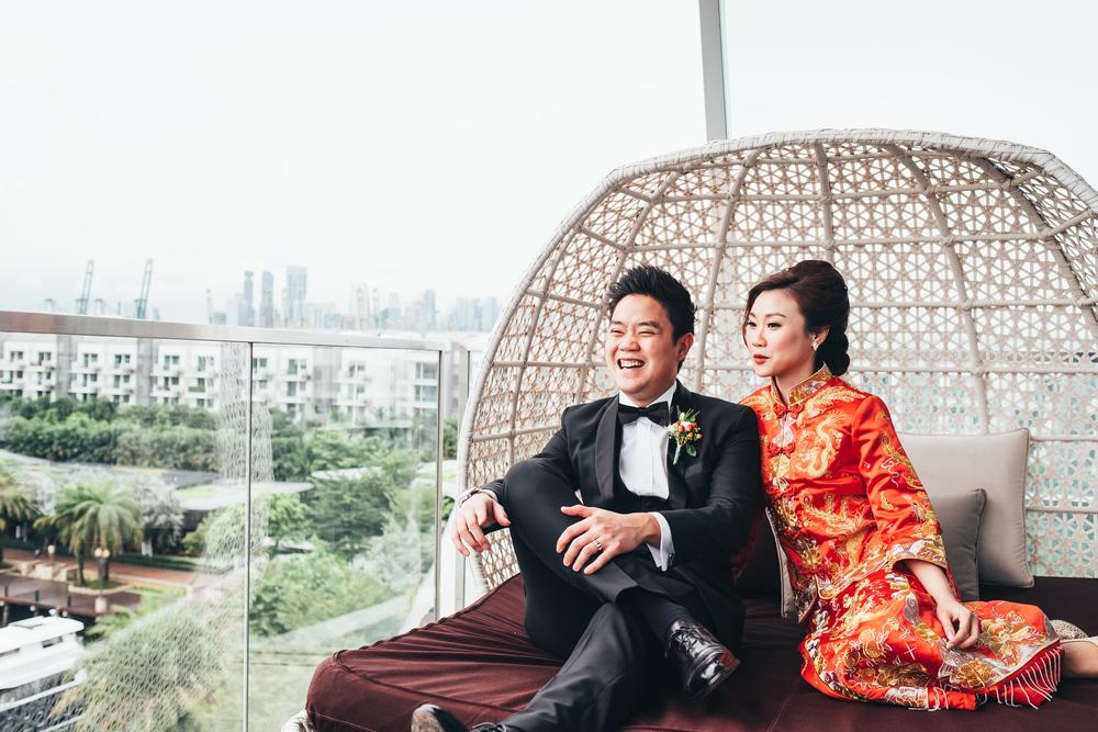 W Hotel, Singapore // July 2016    Josh & Xiaowei    VIEW