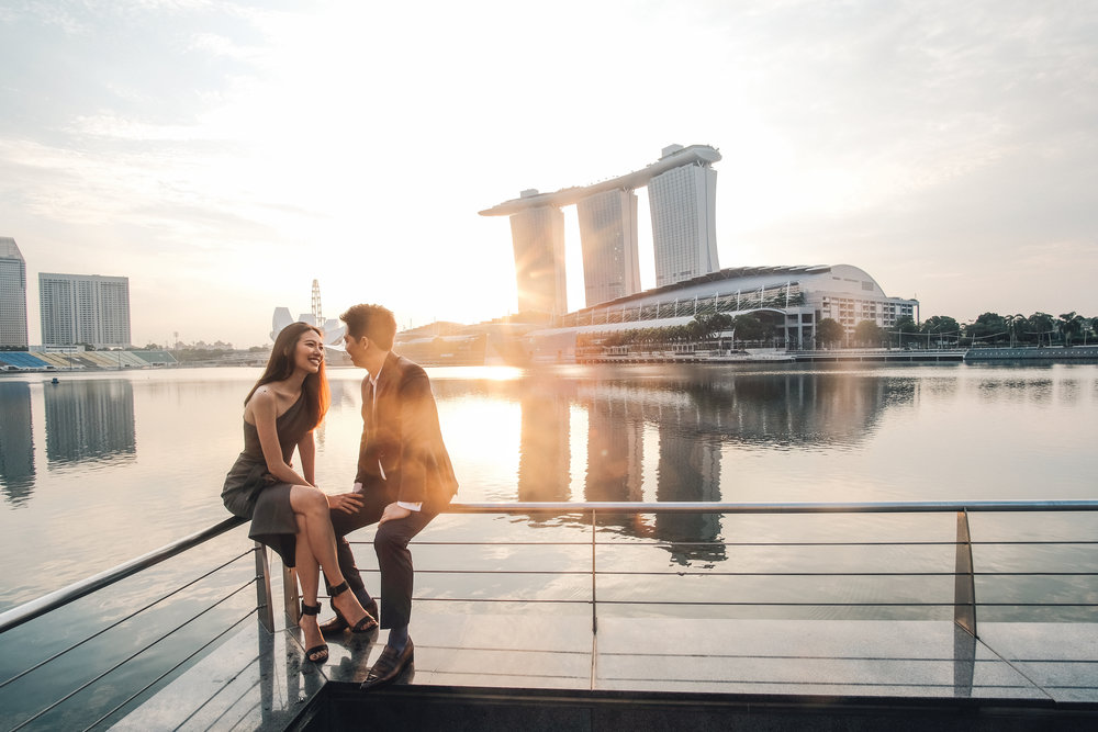 Marina Bay Front, Singapore // Jun 2016    Justin & Karen  VIEW