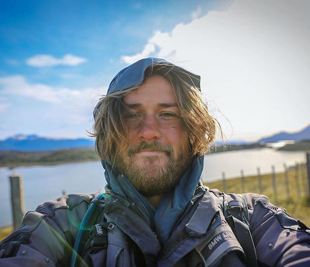 Nearly one year ago I packed my life on the back of a motorcycle to chase a dream of riding south until the road ran out. I was so scared that first day I thought I was going to pass out riding down the freeway. 23,000 miles and many detours later the road south led me to the island of Tierra del Fuego and ended into the sea. Tired, dirty and with tears in my eyes I'd arrived at the end of the world.