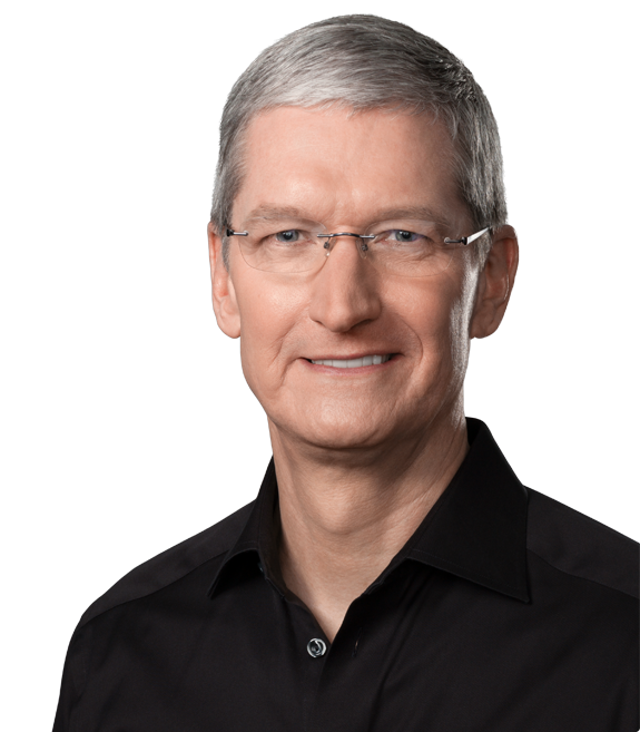 Timothy D. Cook, Apple Inc.'s highly respected Chief Executive Officer