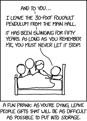 Via the prankability of Randall Munroe at XKCD.