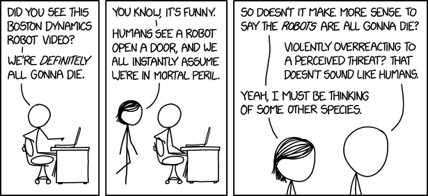 XKCD, Robots