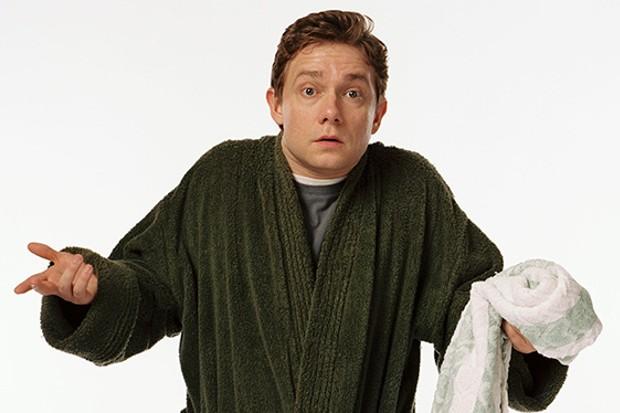 Arthur Dent and His Towel