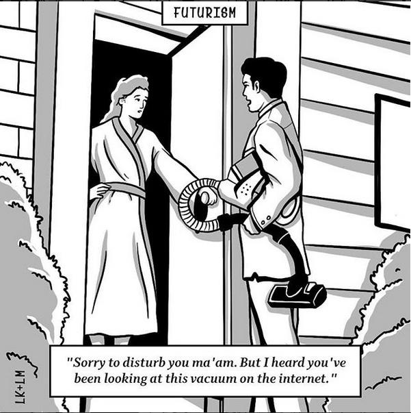 via    Luke Kingma  &  Lou Patrick-Mackay  at   Futurism Cartoons