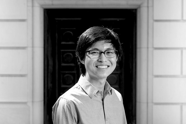 via   Flickr  , Ewin Tang is a University of Texas, Austin, Dean's Honored Graduate in Computer Science. He is receiving an Honors Bachelors of Science in Computer Science and a Bachelors of Science in Mathematics, with the Pure Mathematics option.