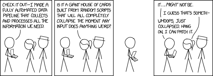 XKCD, Data Pipeline - Security Boulevard
