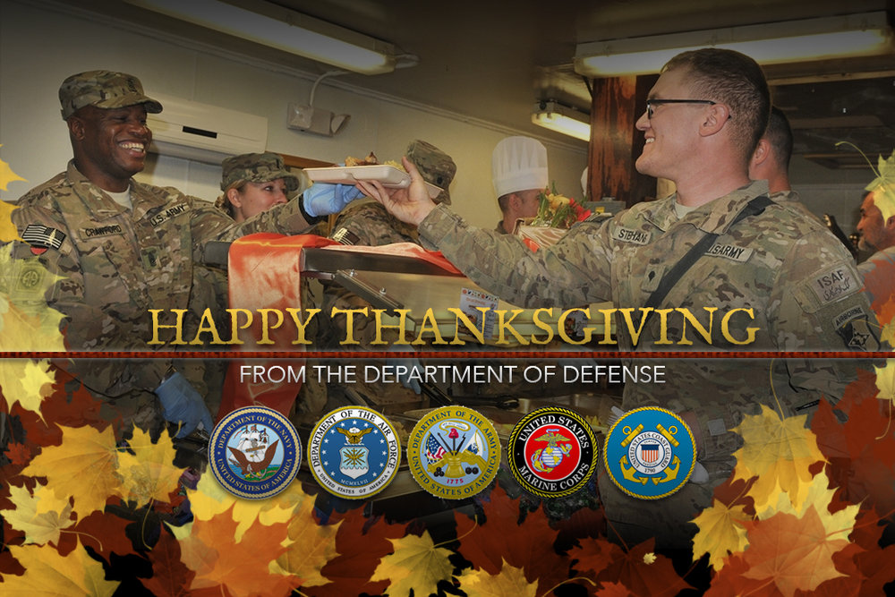 Happy Thanksgiving to All Who Serve!
