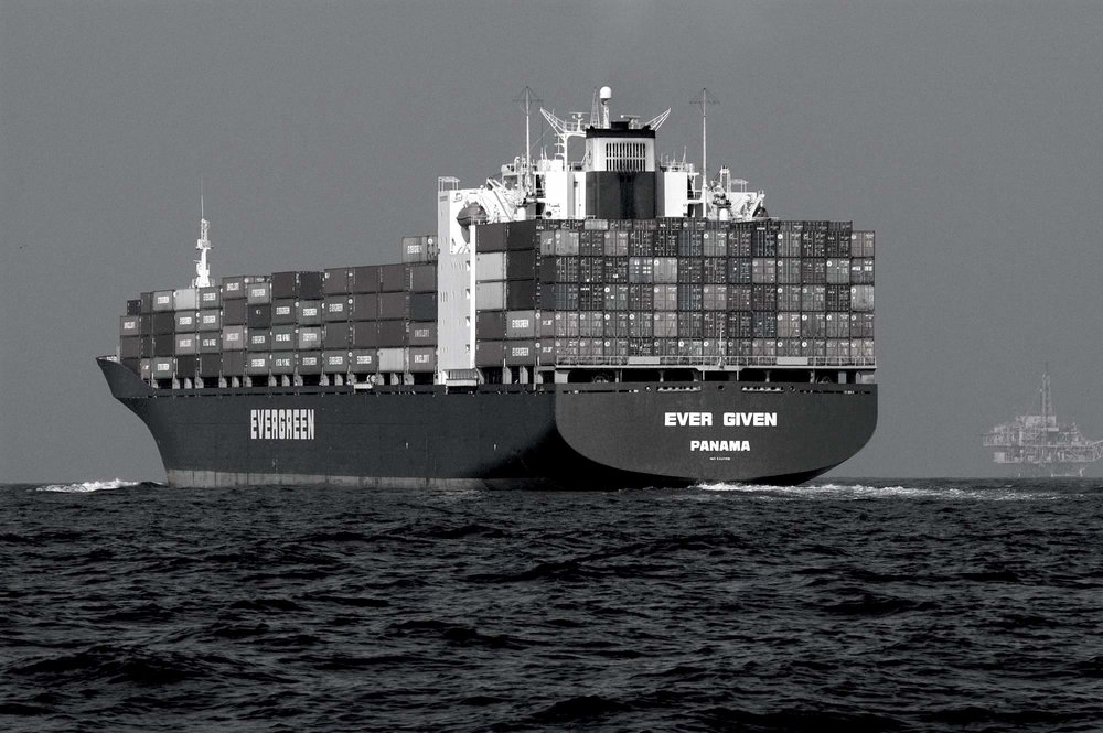 Container Ship Image Credit: US NOAA