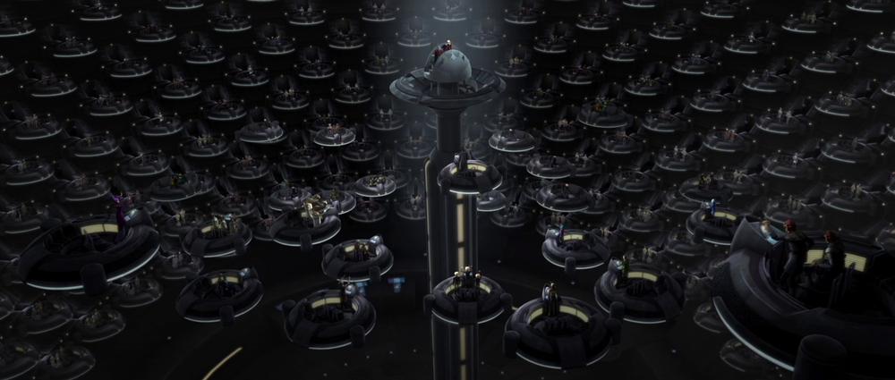 Now, that's a senatorial chamber, eh , Skywalker?