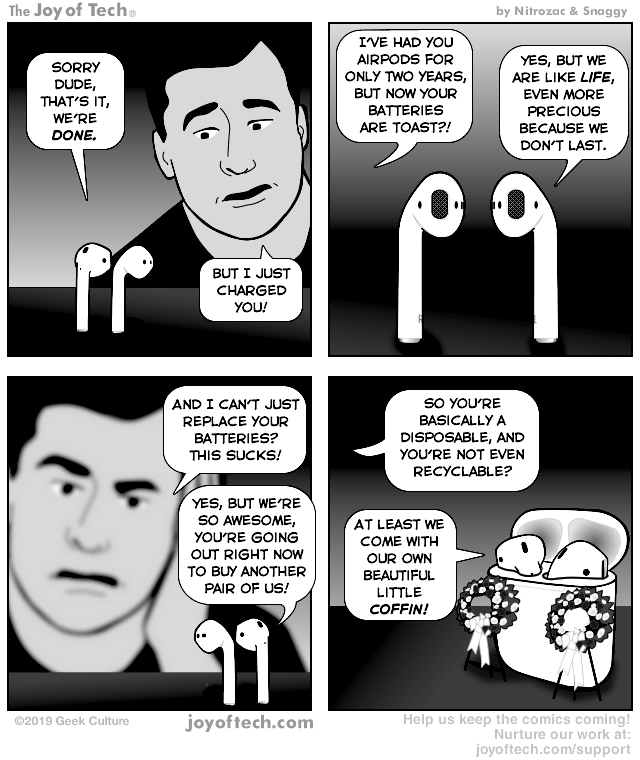 v    i    a       the Comic Noggins of   Nitrozac     and   Snaggy     at   The Joy of Tech®