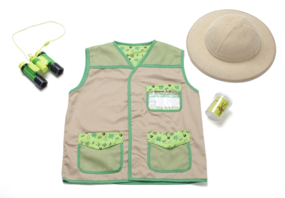 Gifts for Tree-Hugging Kiddos - Backyard Explorer Costume Set