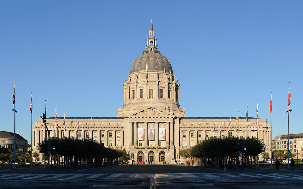 San Francisco city hall. photo: King of Hearts