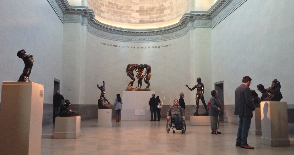 The museum's collection of Rodin sculptures is second only to the Musee Rodin in Paris. There are more than 80 sculptures covering all periods of his career.