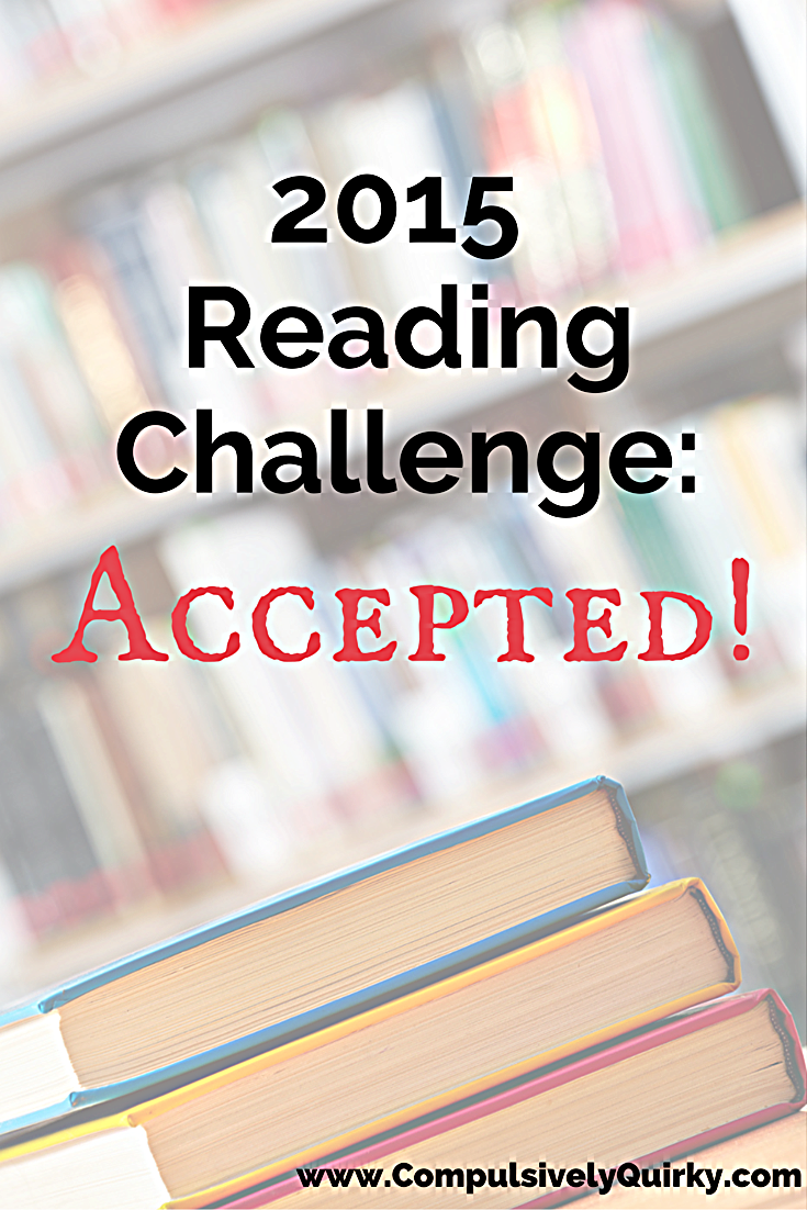 2015 Reding Challenge: Accepted! ~ tracking progress over at www.CompulsivelyQuirky.com