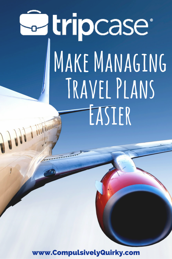 TipCase: Make Managing Travel Plans Easier ~ Handy App Keeps Travel Info Organized ~ www.CompulsivelyQuirky.com