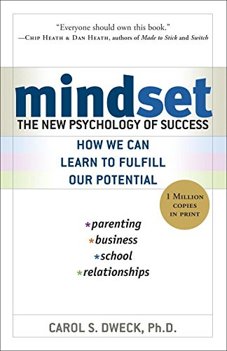 Mindset: The New Psychology of Success by Carol S. Dweck, Ph.D. ~ four star book review at Compulsively Quirky