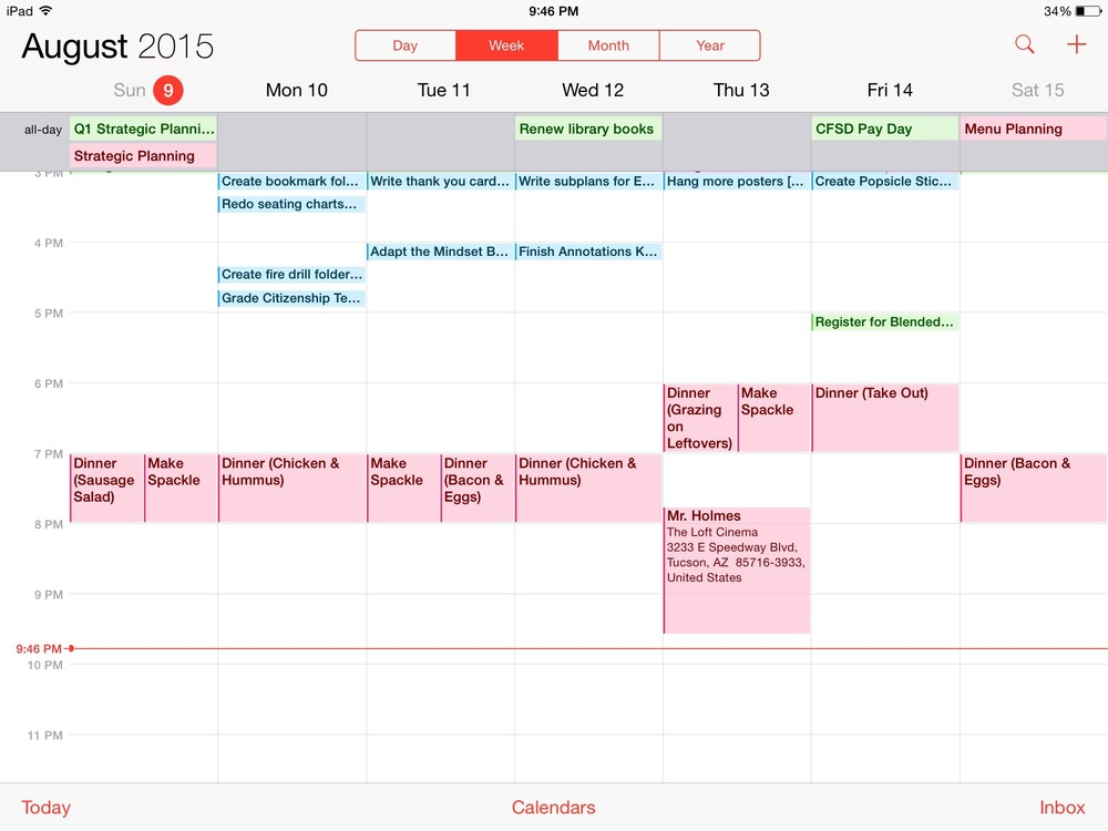 One Calendar to Rule Them All! How I Use iCal to Coordinate Multiple Schedules