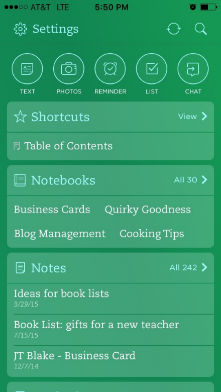 The Five Minute Solution: Create Customized Quick Access to Evernote