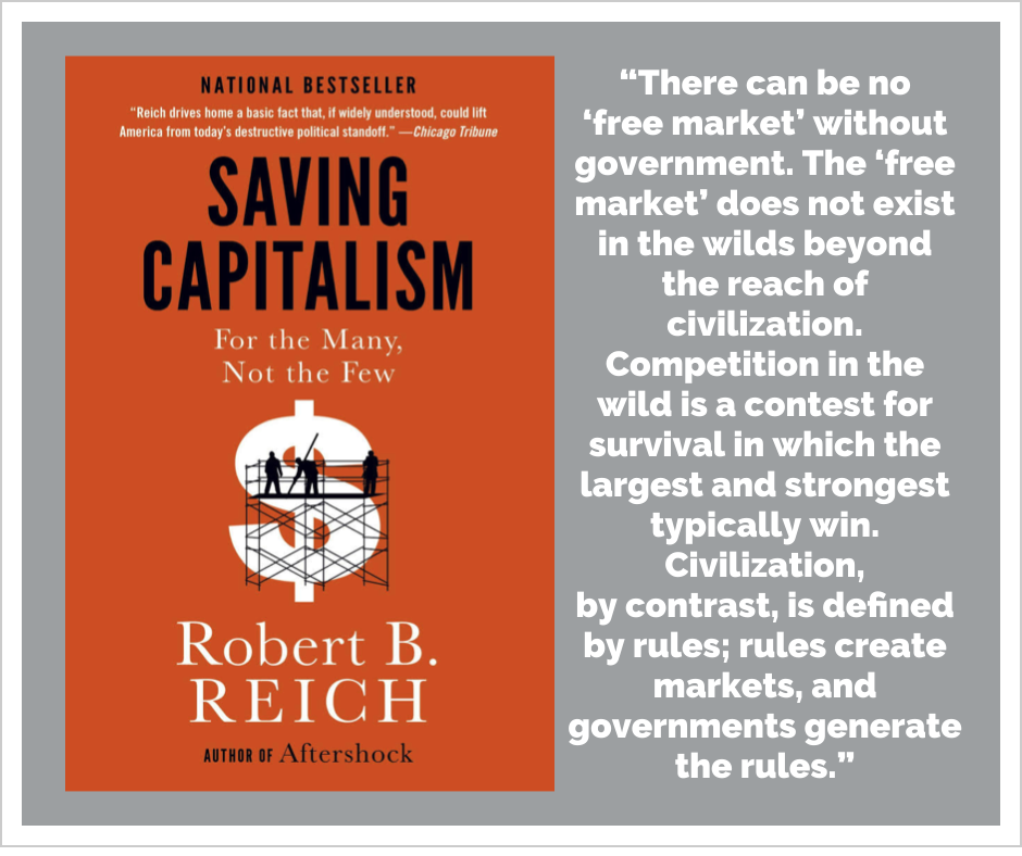 For the Many Saving Capitalism Not the Few