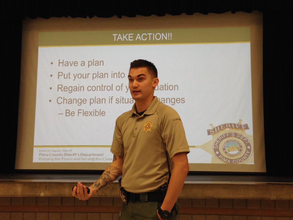 PCSD Deputy at Active Shooter Workshop