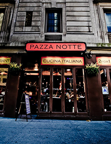 03   website / mobile app Site redesign & mobile app for Pazzanotte, an awesome Midtown Manhattan Italian Restaurant.   TESTIMONIALS