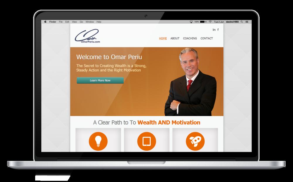 Omar Periu old Website