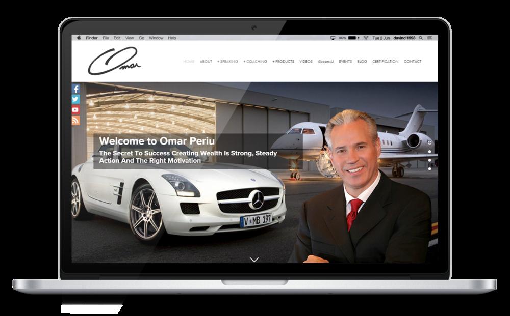 Omar Periu new Website