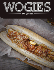 14   mobile app Mobile app for Wogies Bar & Grill. Cheese Steak. Perfection.    TESTIMONIALS