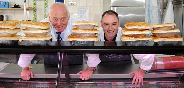 2013 Scottish Champion Pie Maker Marshall Butchers